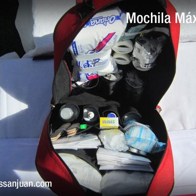 Botiquines San Juan - Modelo Mochila Máximum