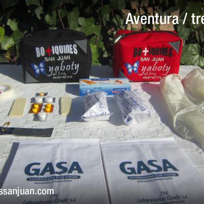 Botiquines San Juan - Modelo Trekking / Aventura